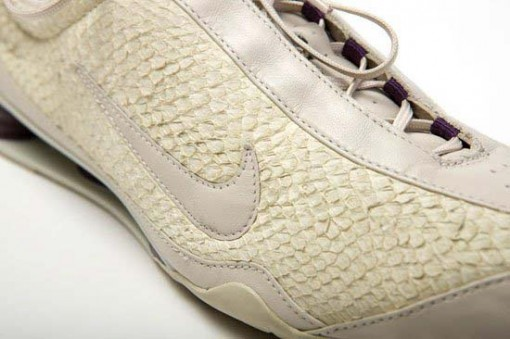 Fish leather nike shoes