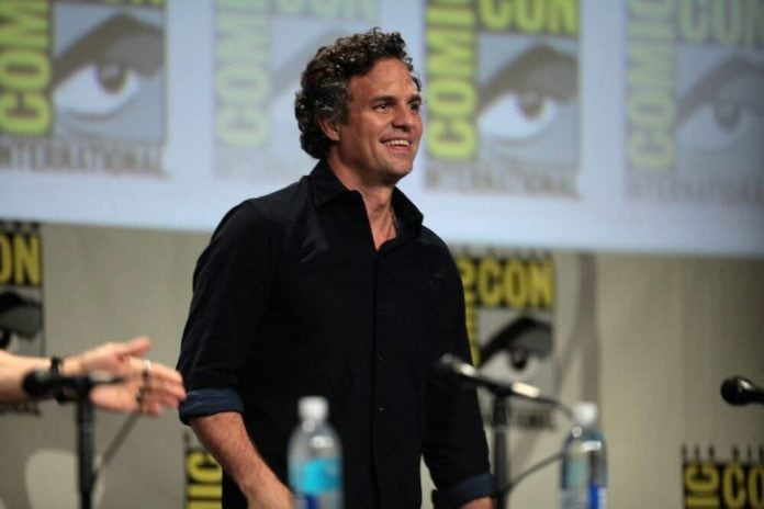 Mark Ruffalo at Comic Con