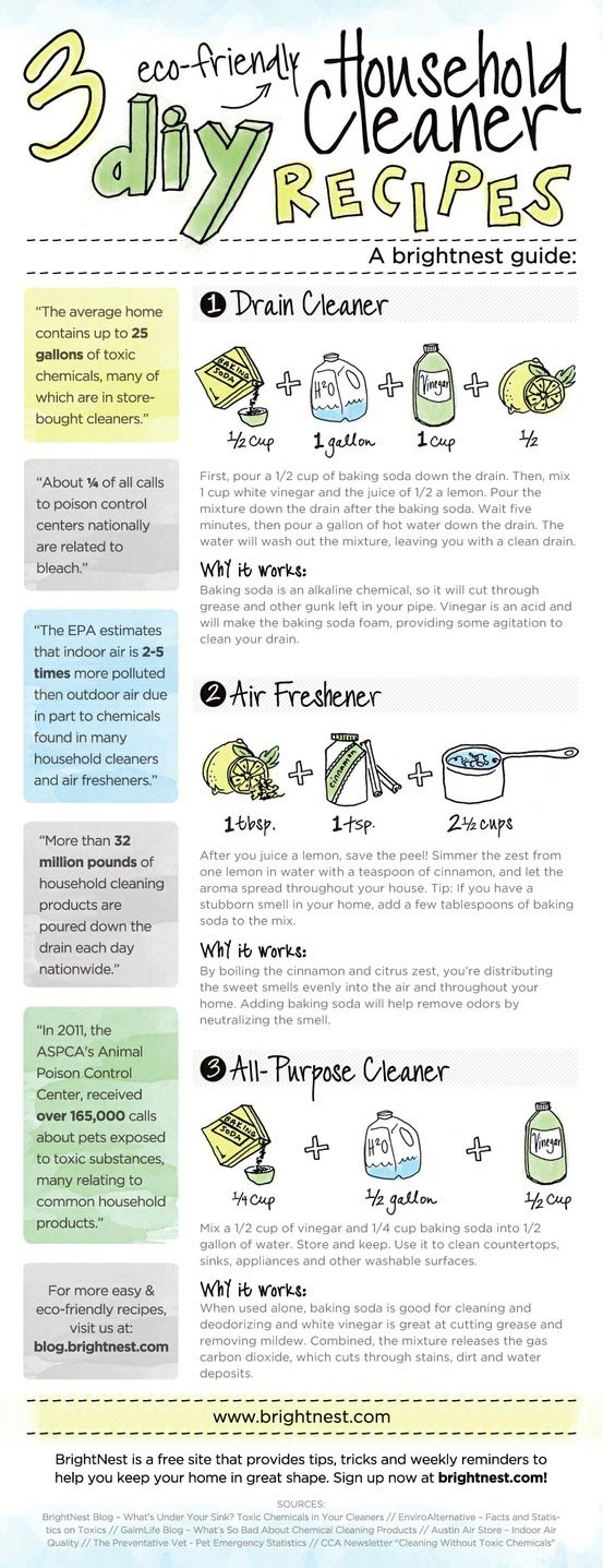 DIY Eco-Friendly Household Cleaner Recipes