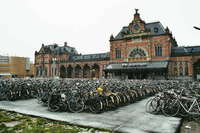 Groningen bike friendly
