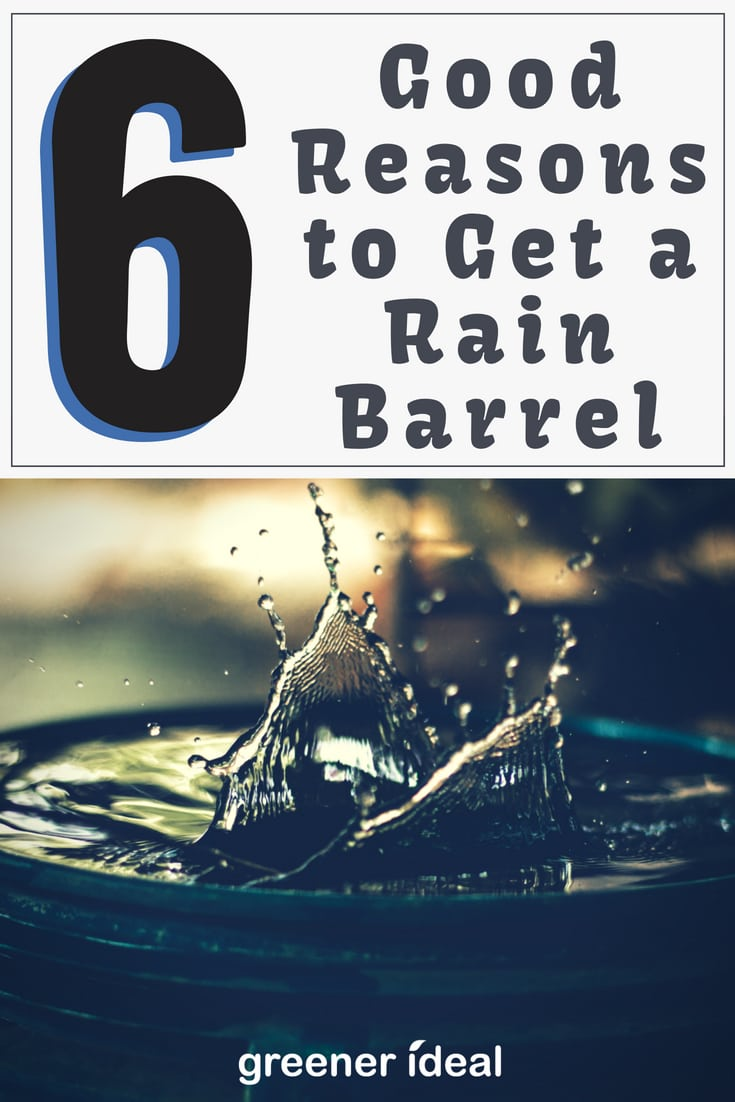 #Rain barrels and#water tanksare incredibly easy to set up and use, and there are plenty of good reasons to use one. Here are six reasons you should consider one for your yard.